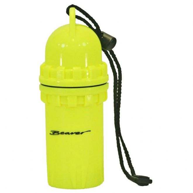 Beaver Sports - Compact Dry Storage Canister - Yellow